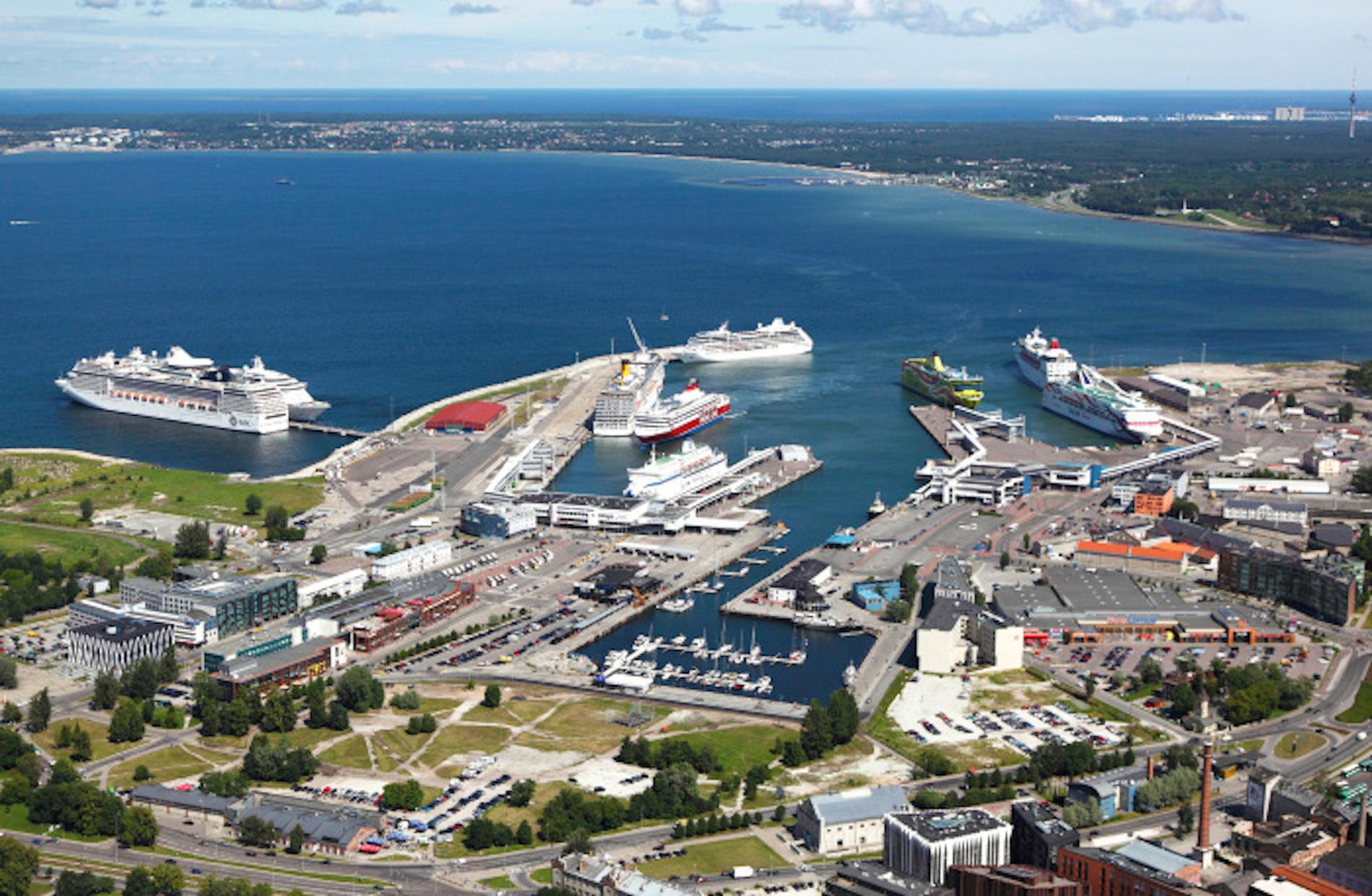 Port Of Tallinn Estonian Logistics Cluster